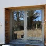PERFORMANCE glazed timber doors at Hertfordshire selfbuild
