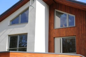 PERFORMANCE timber windows at Hertfordshire selfbuild