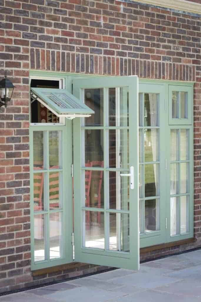 Triple Glazed Timber French Doors Green Building Store Green