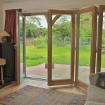 PERFORMANCE triple glazed foldaside door at Oxford retrofit