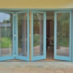 PERFORMANCE triple glazed timber foldaside door at Oxford retrofit