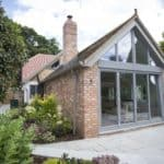 PERFORMANCE triple glazed timber windows and doors at Reading low energy retrofit