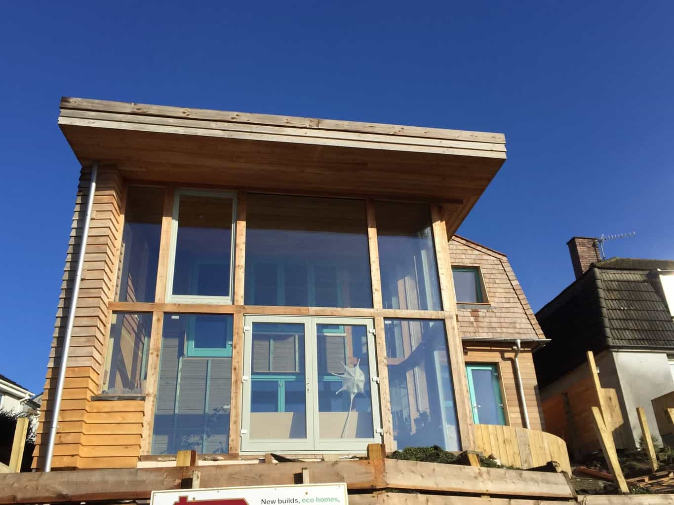 PERFORMANCE triple glazed windows and doors at Wadebridge Responsive House, Cornwall