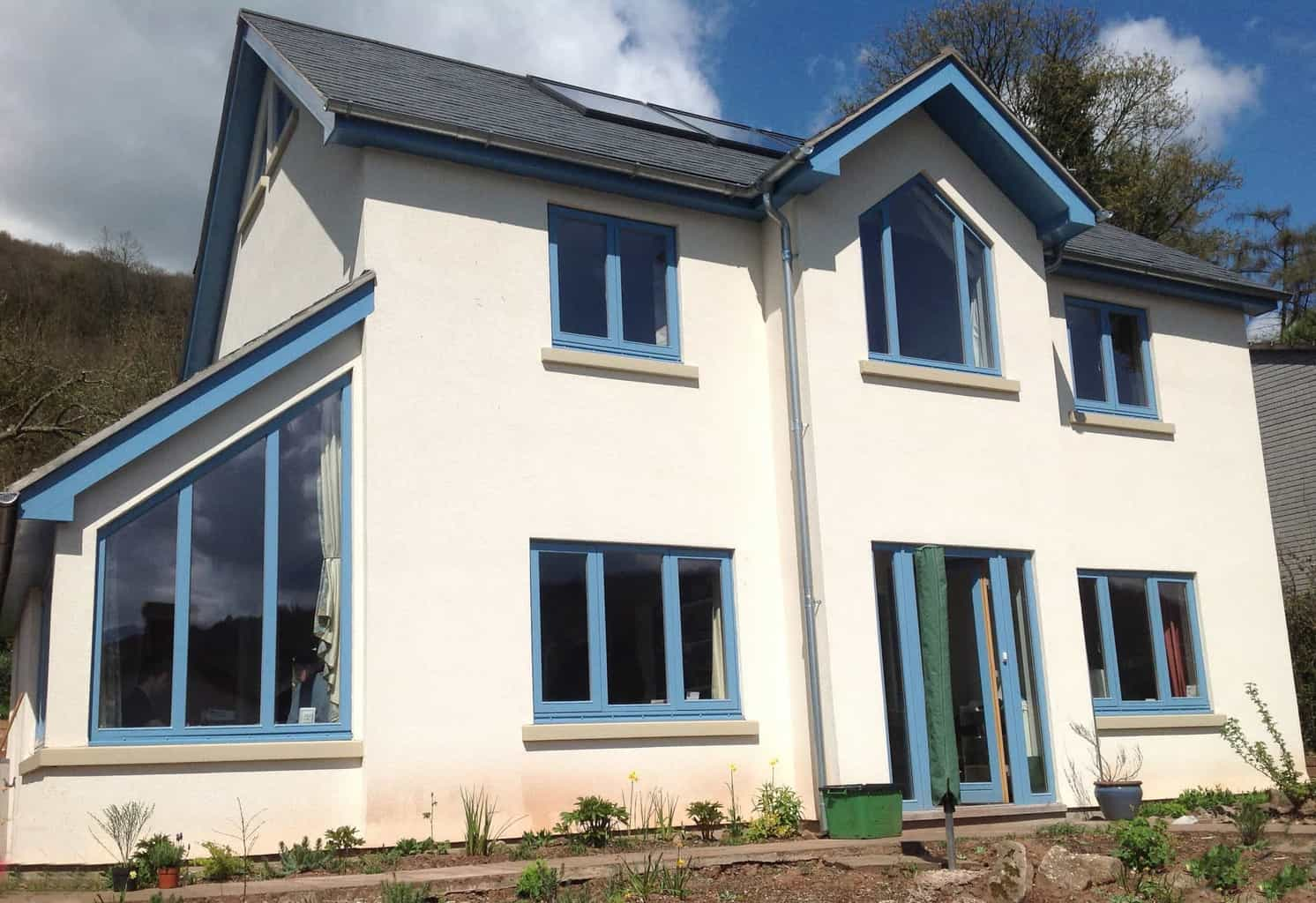 PERFORMANCE windows at Monmouthshire newbuild
