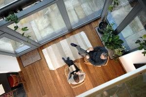 Denby Dale Passivhaus interior