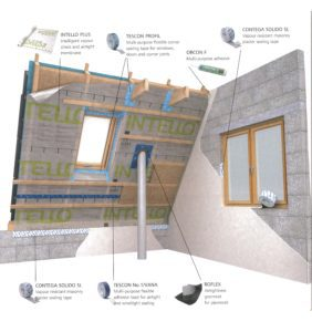 Which Pro Clima airtightness product?