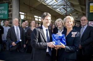 Green Building Store receiving the Queens Award for Sustainable Development 2009