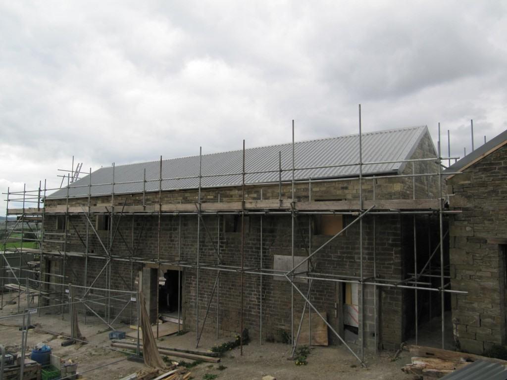 Roof Cre8 Barn Stirley Farm EnerPHIT