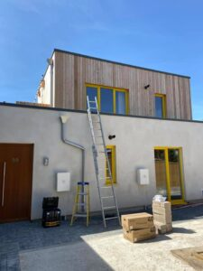 Selfbuild project funded by Ecology Building Society