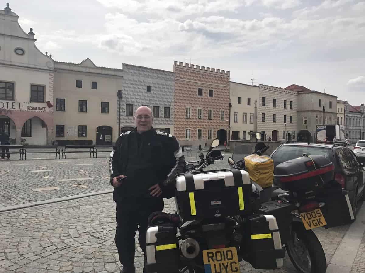 Bill Butcher in Slavonice