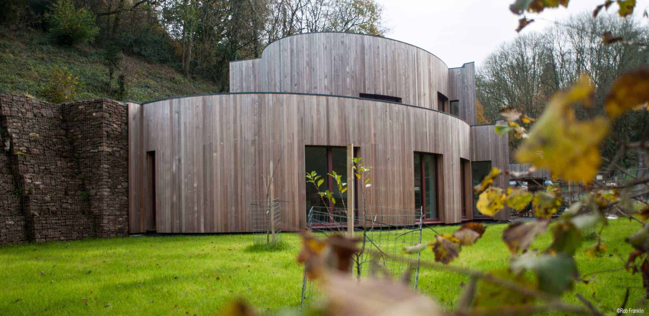 Somerset Passivhaus project with MVHR system designed and supplied by Green Building Store. Copyright: Rob Franklin