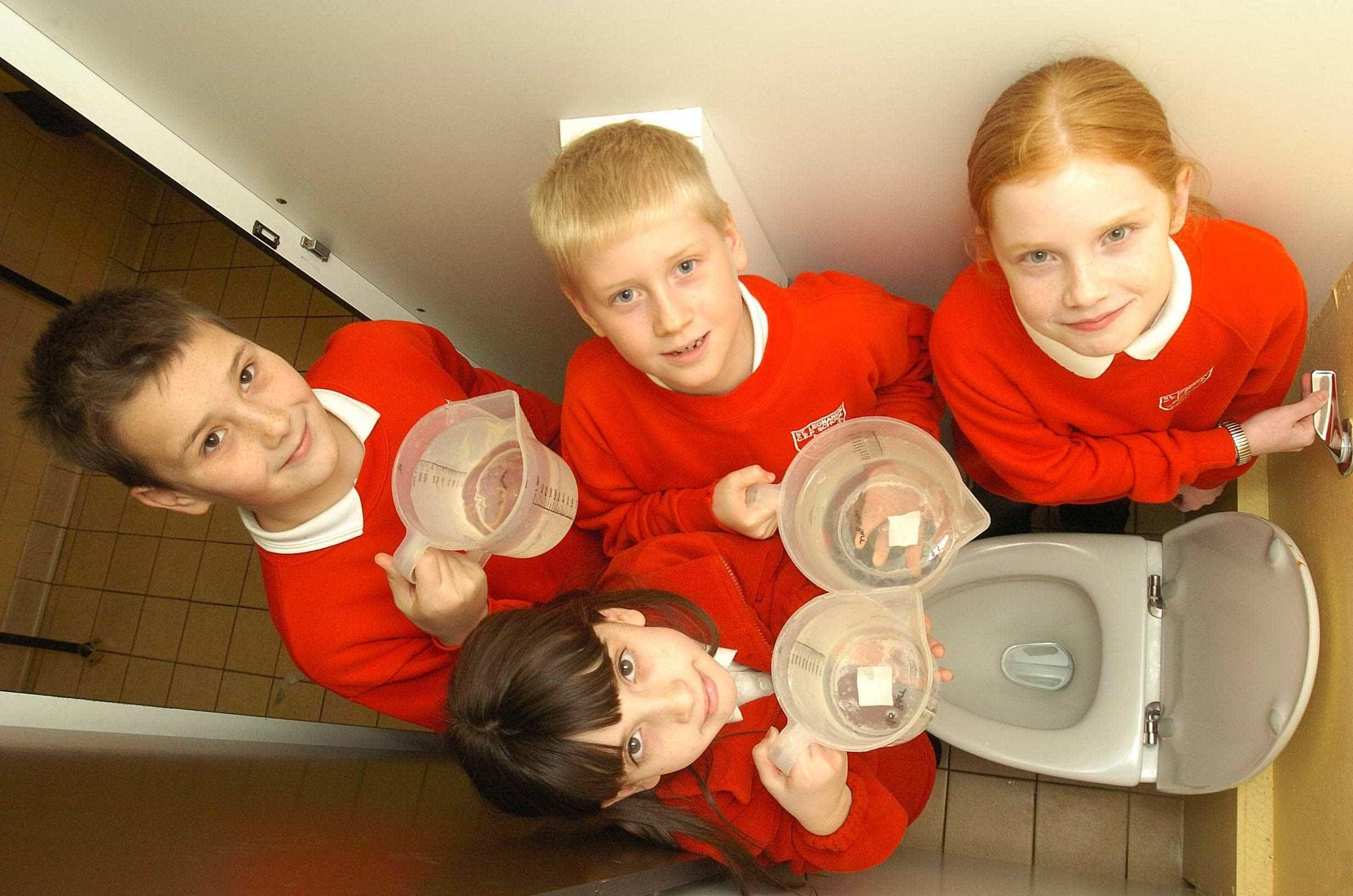 St Leonards School low flush toilet study