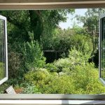 44. This was our beautiful view for a few weeks last year. We did a full window replacement on a house in #chorlton #manchester and this was the amazing garden we were greeted with every morning. Submitted by Snug Spaces