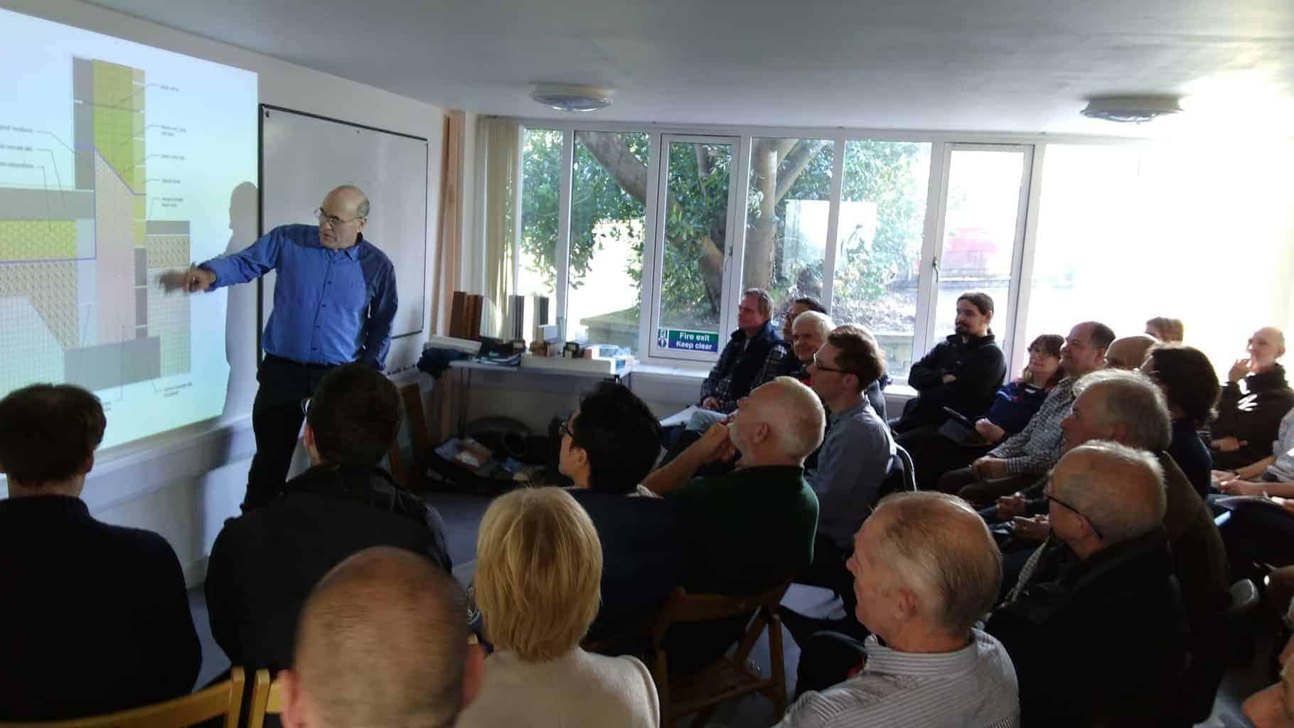 Green Building Store Passivhaus retrofit talks Huddersfield