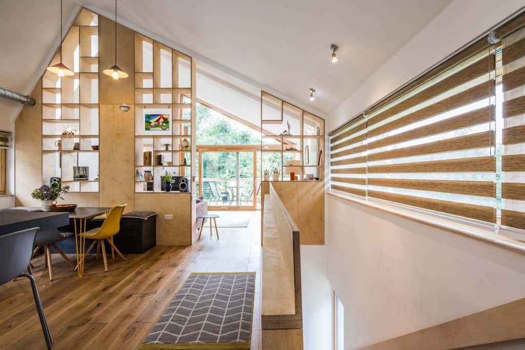 The Hen House project Sheffield with PERFORMANCE triple glazed timber windows and doors photo by Dug Wilders