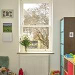 Triple glazed sliding sash timber window from Green Building Store