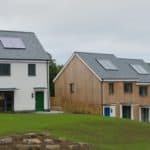 ULTRA doors at Layne Fields Affordable Passivhaus project