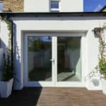 ULTRA triple glazed French doors