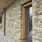 ULTRA triple glazed timber window at low energy selfbuild project Yorkshire