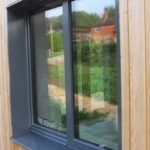 ULTRA triple glazed timber windows and doors at Larch Corner Passivhaus