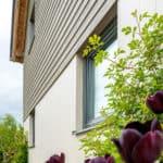 ULTRA triple glazed timber windows at oak frame newbuild