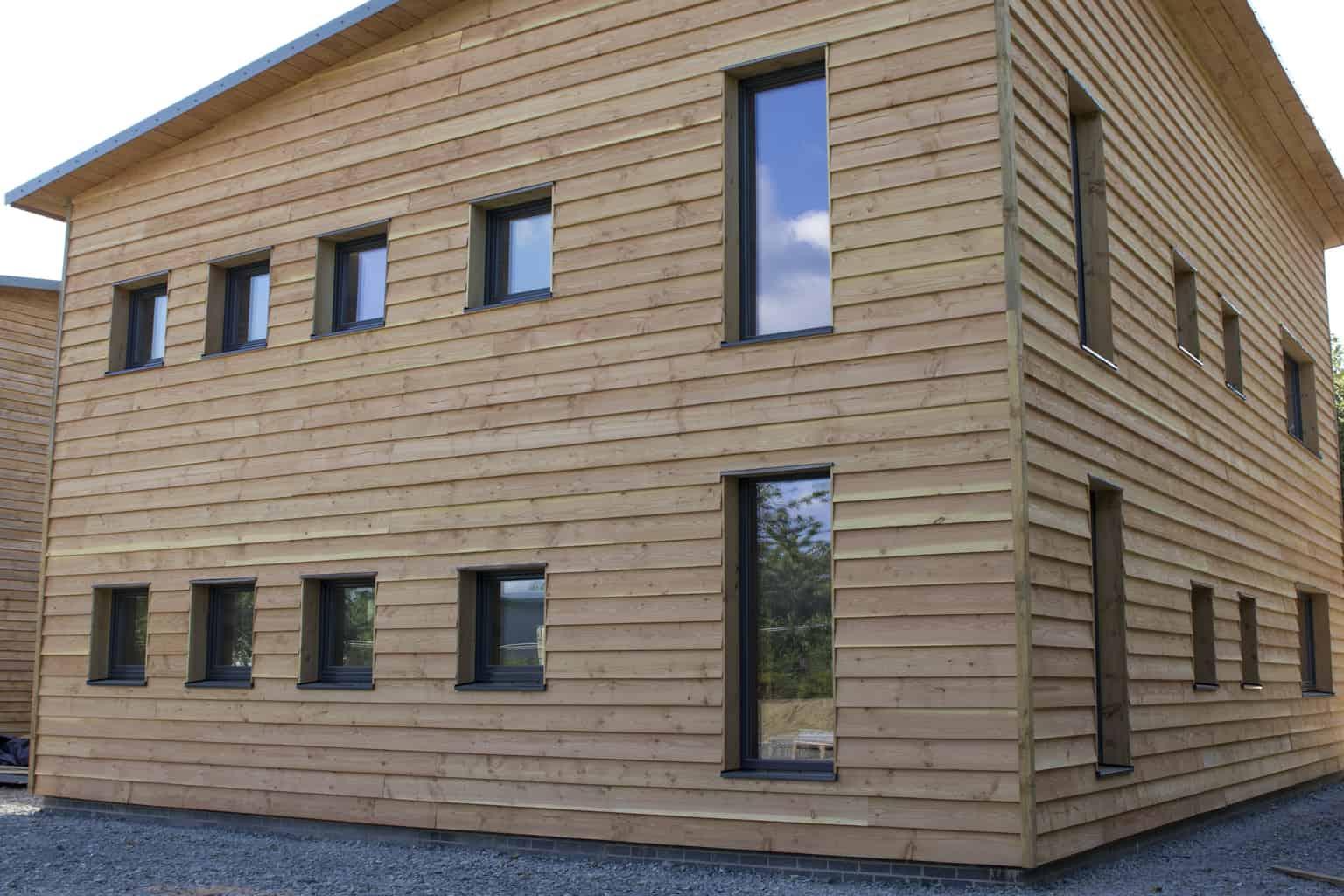 ULTRA triple glazed timber windows at PYC Group Passivhaus Office Welshpool