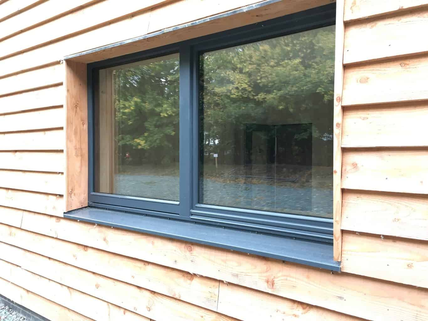 ULTRA triple glazed timber windows at PYC Group Passivhaus Office Welshpool