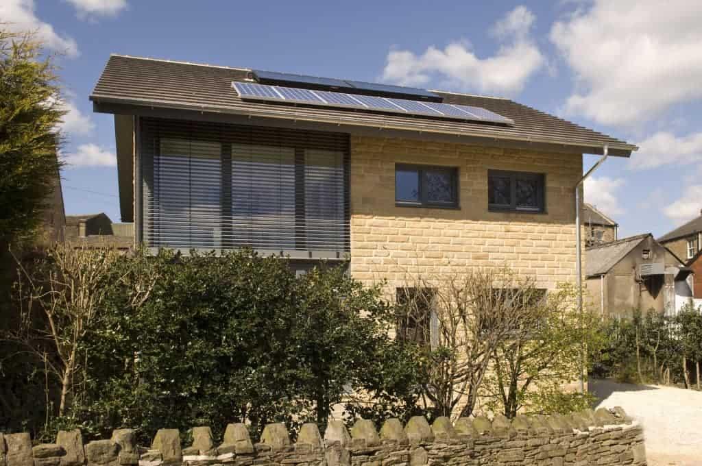 Denby Dale Passivhaus - exterior