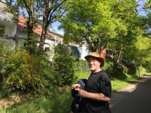 Walking around Freiburg