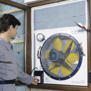 Pro Clima Wincon airtightnesss testing unit