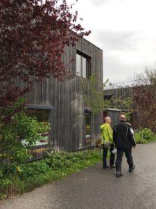 Visiting Passivhaus buildings in Wolfurt