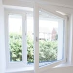 PERFORMANCE windows at Exeter social housing project