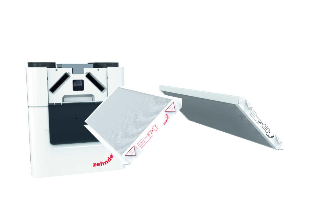 Zehnder ComfoAir Q filter replacement