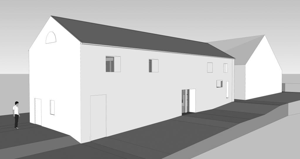 Stirley Community Farm low energy refurbishment 3D model