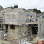 Building Denby Dale Passivhaus cavity wall construction