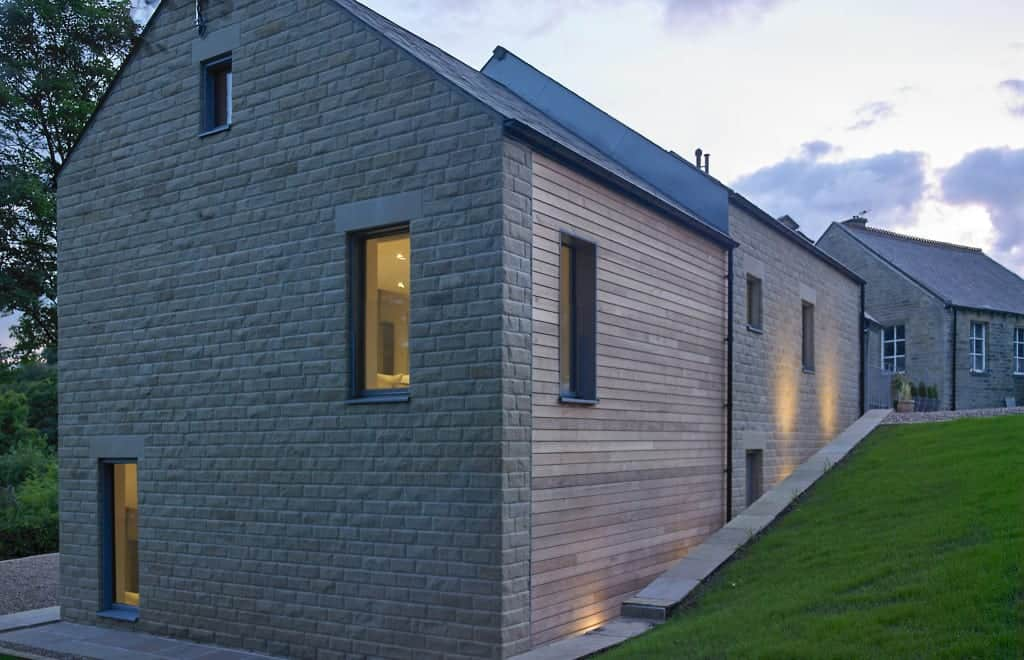 Progression Passivhaus certified timber windows at Golcar Passivhaus