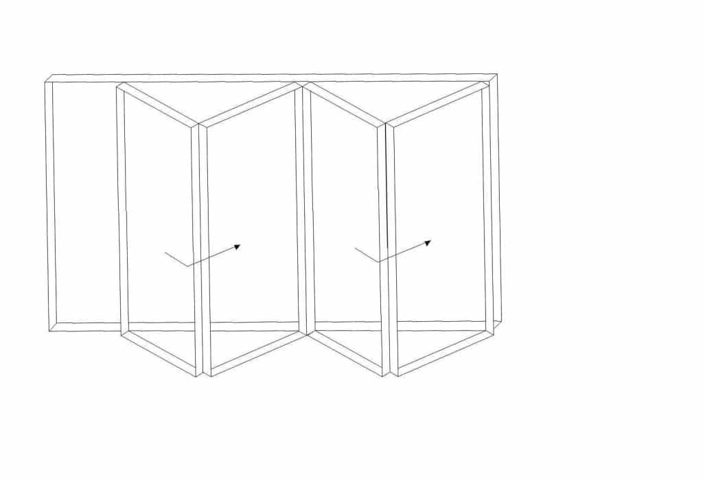bi-fold fold aside doors
