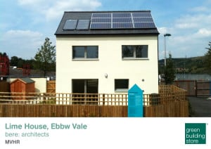 Lime House Passivhaus Green Building Store MVHR design and supply