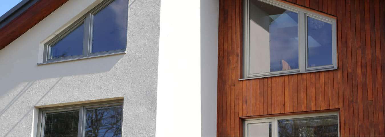 Triple glazed timber windows Hertfordshire