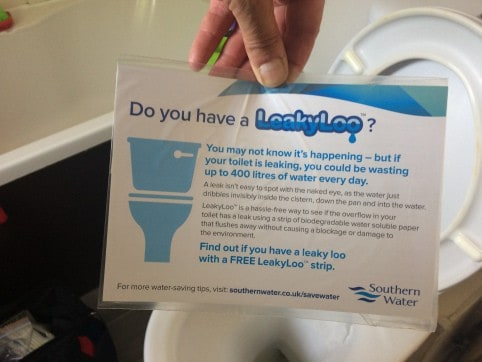 Do you have a leaky loo?
