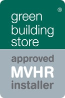 Approved MVHR installer Green Building Store