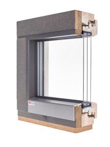 PROGRESSION Passivhaus certified timber window
