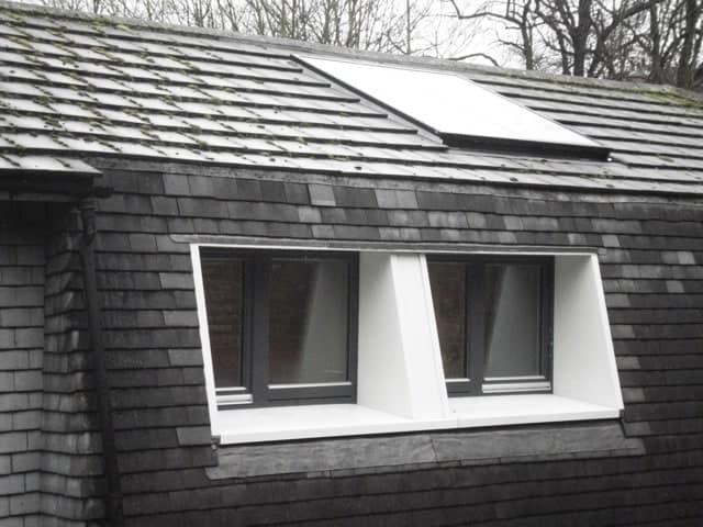 Triple glazed timber windows at Nottingham radical retrofit