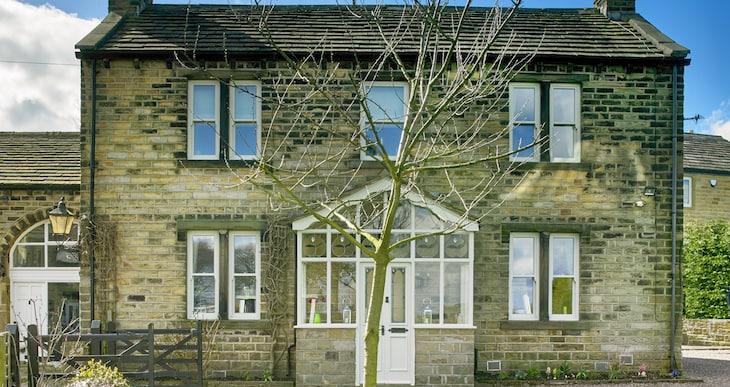Green Building Store triple glazed timber sliding sash windows